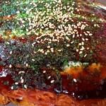 128353364 - 広島肉玉焼き 730円+唐麺 +50円+麺ダブル +100円+大葉 +100円