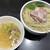 超純水採麺 天国屋 - 料理写真:2020/3/29限定・浅利水の鮮魚出汁つけ麺(しめご飯付)(大盛1100円)