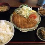 太鼓亭 - 料理写真:上トンカツ定食