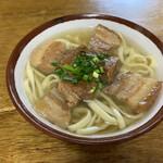 前田食堂 - 三枚肉そば(小)