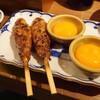 月見つくねを鎌倉で - 料理写真: