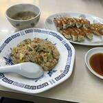 翠明 - 餃子定食