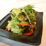 12837917 - サラダ(岐阜の野菜だそうです)