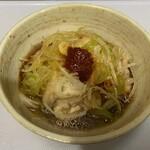 串焼き 勝 - 鶏ポン酢