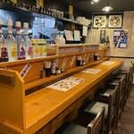 串焼き 勝 - カウンター席2