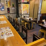 串焼き 勝 - カウンタ席1