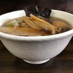 太麺屋 - 小盛り細麺あっさり650円+味玉100円