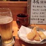 刻の遊 - 串かつとビール