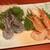 『千住の海老料理専門店』Shrimp Dining EBIZO 北千住 - 料理写真:天使海老と甘海老のお刺身