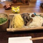 そうめん処 霞亭 - 料理写真:ひやしそうめん900円(税込)