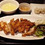 128385499 - 若鶏の唐揚 油淋鶏ソース(1000円)