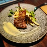 チーズ家 Quelle - オーストラリア産仔羊グリルスティルトンソース