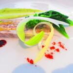ノーザンテラスダイナー - 自家製パテ・ド・カンパーニュと春野菜のコンポジション エストラゴンのソース【2020年3月】