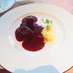 ノーザンテラスダイナー - 札幌グランドホテルオリジナルワインで煮込んだ牛タンシチュー ポムピューレを添えて【2020年3月】