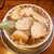 尾張ラーメン 第一旭 - ラーメン(¥800)。表面を覆い尽くすチャーシュー