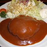 ステーキ&煮込みハンバーグ SAKAI - ハンバーグ