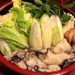 かき金 - 料理写真:土手鍋