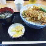 小矢部川サービスエリア 下り線 レストラン - 白えび天丼 780円