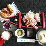 網元の宿 あお来 - 料理写真:お刺身定食