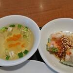 TINUN - スープと生春巻き
