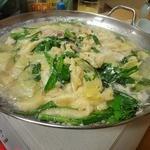 かどや - 地鶏鍋(完成)
