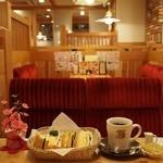 コメダ珈琲店 - ミックスサンド&たっぷりブレンドコーヒー