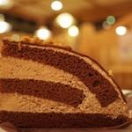 コメダ珈琲店 - チョコレートケーキ