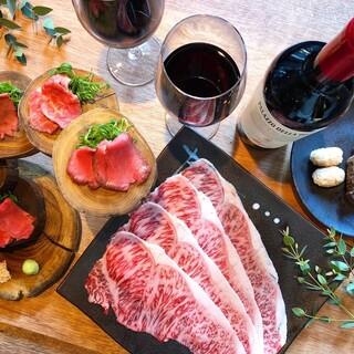 焼肉寿司の宴会コースは5,000円~ご用意しております!!
