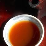 天祥庵 - 蕎麦湯