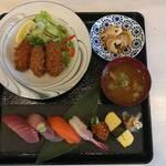 ウル松島 - 寿司セット