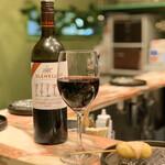 創作串揚げ専門店 ミラージュ - ドリンク写真:赤ワイン