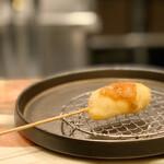 創作串揚げ専門店 ミラージュ - ささみチーズ梅肉ジュレ