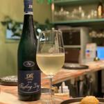 128427291 - 白ワインと鯛の串