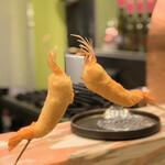創作串揚げ専門店 ミラージュ - 料理写真:天使の海老で乾杯