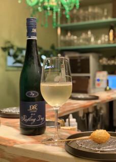 創作串揚げ専門店 ミラージュ - 白ワインと鯛の串