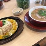 ラーメン横綱 岸和田店 - ラーメン・明太マヨチャーハン