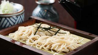炙りもんと蕎麦 満月 - ざる蕎麦と蕎麦猪口
