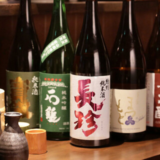 しみじみ旨い日本酒と焼酎を全国各地から取り寄せています!