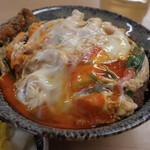 たけふく - 料理写真:カツ丼 玉子をダブルに!トロッと玉子がたまらない。