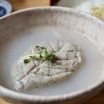 蕎麦割烹 黒帯 - そばがき