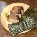 128437881 - 炙り鯖寿司(三個) ¥1,020