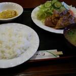 レストラン葡萄酒 - 料理写真:ポークガーリック焼き 800円
