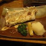 海人 - 太刀魚の塩焼き