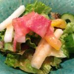 遊食旬菜 meji菜 - 和やか弁当1000円 サラダ