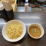 浜田山 - つけめん(魚介豚骨)¥850