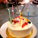 BULLS STEAK HOUSE - ケーキ