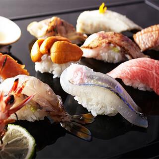 《旬の食材》季節を感じる新鮮な食材をご提供。