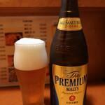 一休軒 - 瓶ビール:600円