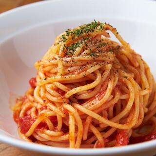 もっちもちの生スパゲッティは3種類