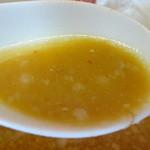 ラーメン まるみつ - 味噌スープ